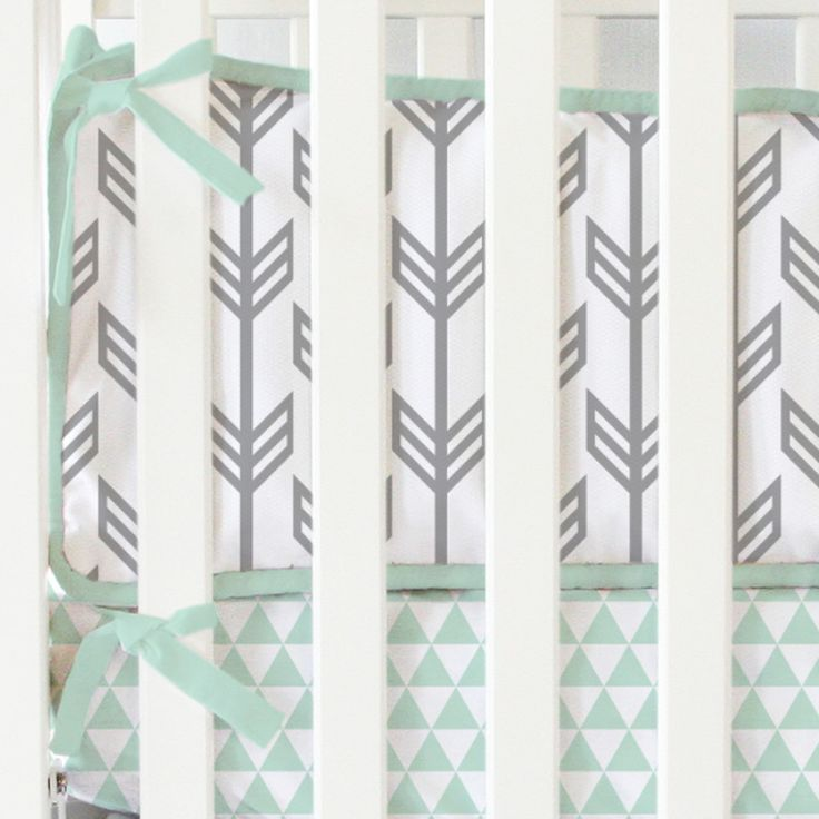 Caden Lane Baby Bedding - Mint