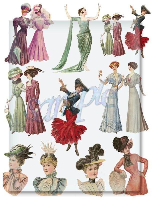 154 best fashions 1900 1910 images on pinterest vintage for Art deco era clothing