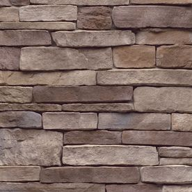 to cover up cement foundation on front of house: $68 at lowe's: StoneCraft 9 Sq. Ft. Bucktown Ledgestone Flats