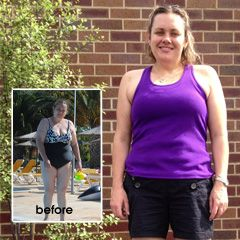 The key to Michelle's weight loss success all came down to positive thinking.