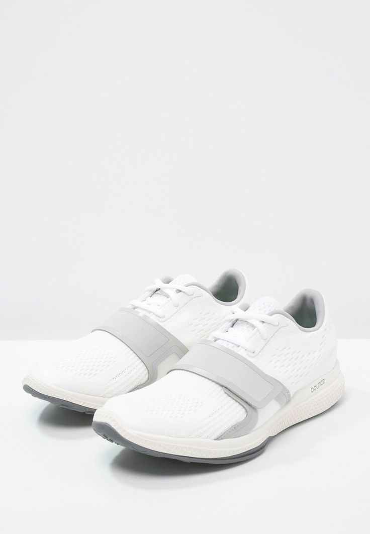 adidas by Stella McCartney ATANI BOUNCE - Trainers - white/white chalk/new  grey