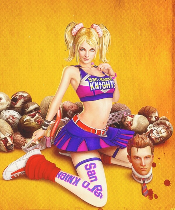 My favorite! Lollipop Chainsaw :)