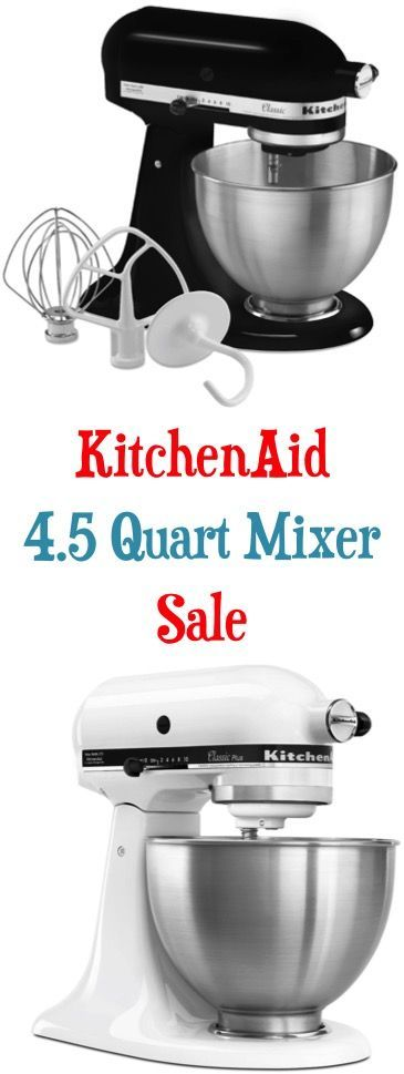Score a sweet deal on something you'll use for years to come! Right now you can score a Pre-Black Friday deal with this KitchenAid Mixer Sale: $189 - $199!!