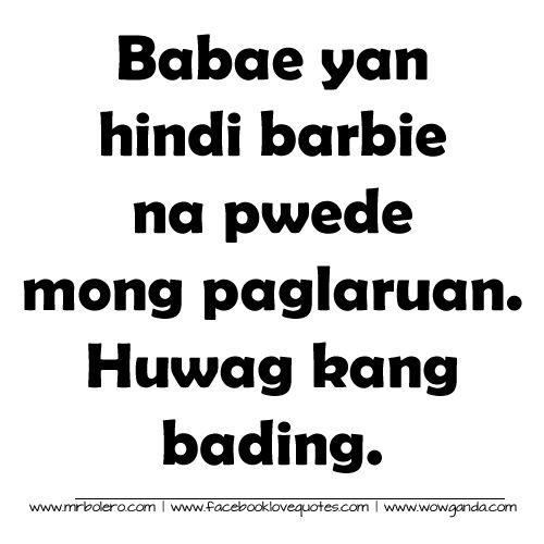 Best Tagalog Quotes - Mga Patama Love Quotes