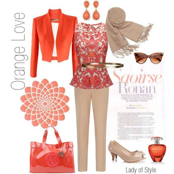 Orange Love   Lady of Style