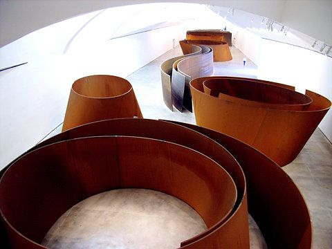 Richard Serra's labyrinth...