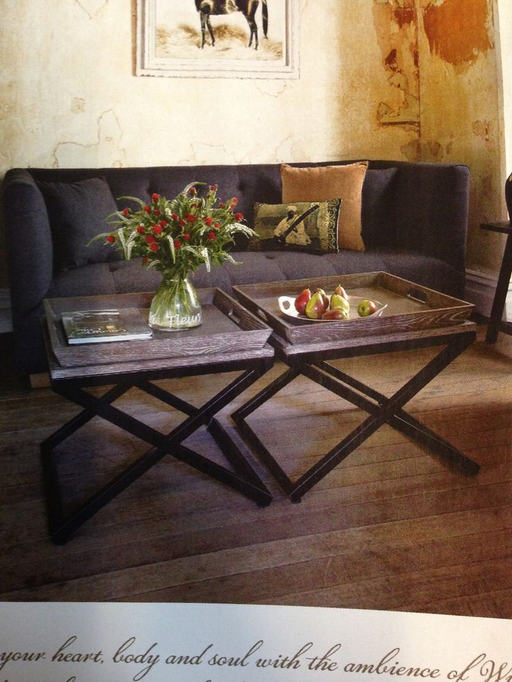 Side tables from Villa Maison