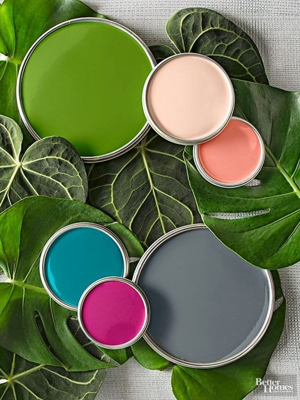 (Little Ways) To Try A New Color In Your Home