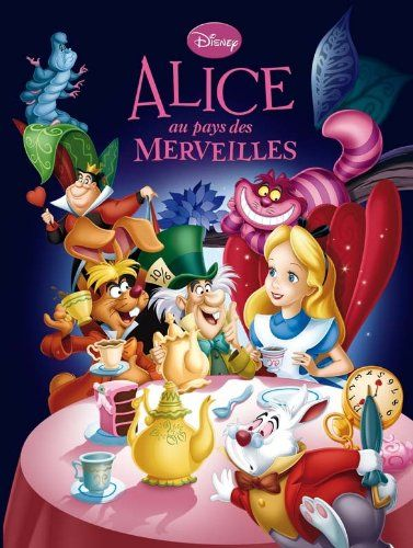 Amazon.fr - Alice au pays des merveilles, DISNEY CINEMA N.E. - Walt Disney - Livres