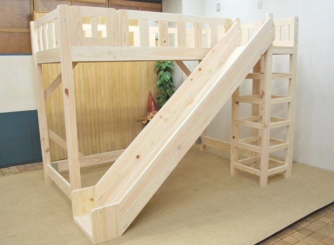 Awesome Superb Wood Loft Bed With Slide Best 25+ Bunk Bed With Slide Ideas On  Pinterest