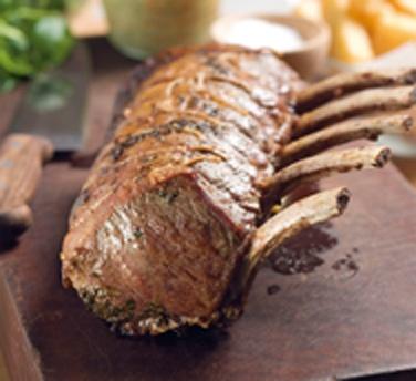 Roast Rib-eye with Bernaise Sauce