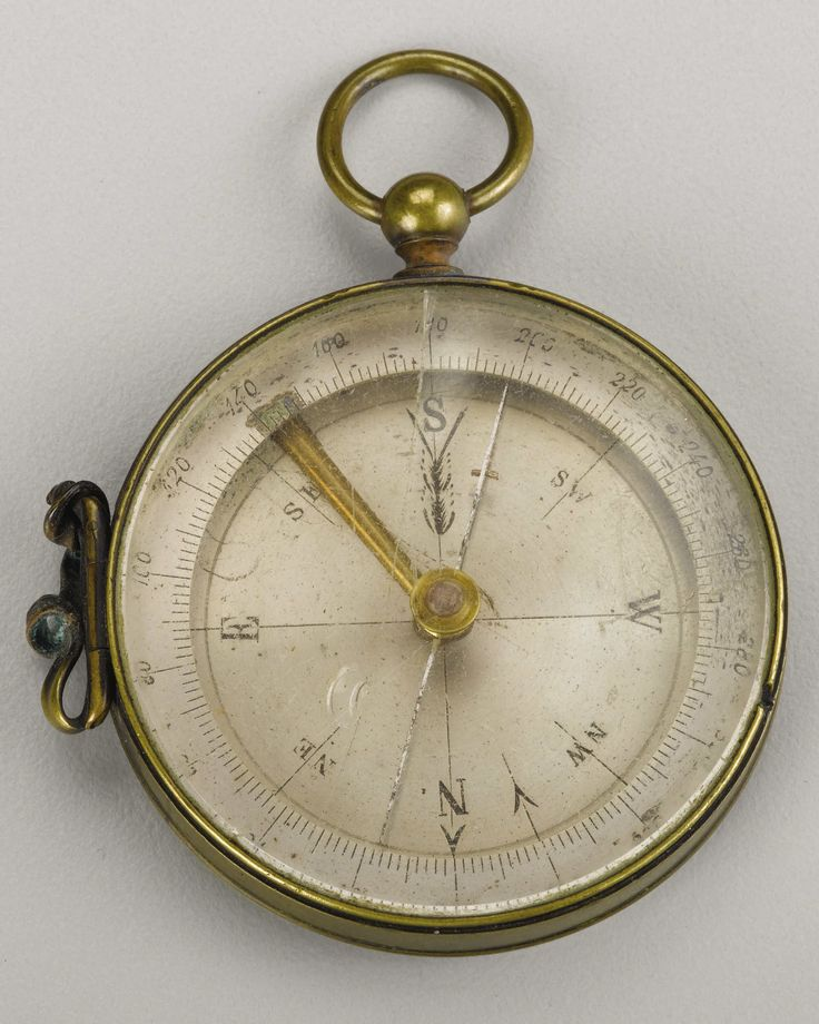 A Compass Inscribed From General Philip Sheridan to H. C. Koch This compass was a gift from Union General Philip Sheridan to his topographical engineer H. C. Koch.