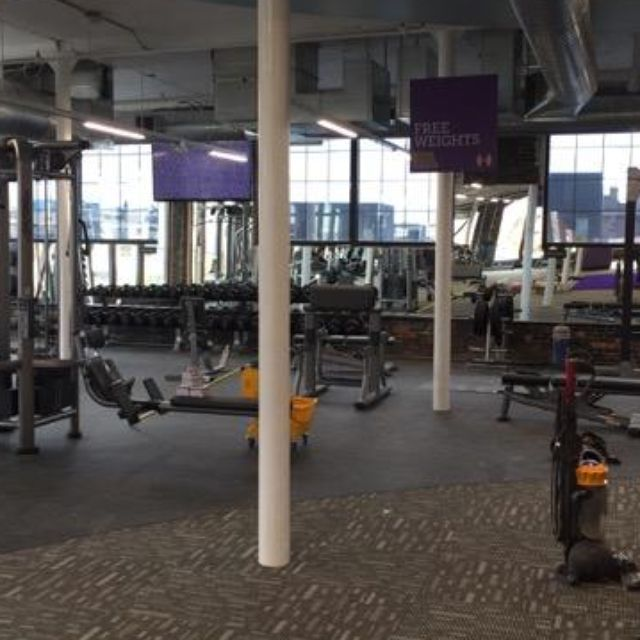 Former Marine Jason Gast opened his gym in the 300 MLK project near Principal Park.