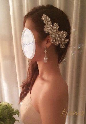 ドレスから色打掛へとチェンジ♡お洒落花嫁さまの素敵な1日 の画像|大人可愛いブライダルヘアメイク 『tiamo』 の結婚カタログ