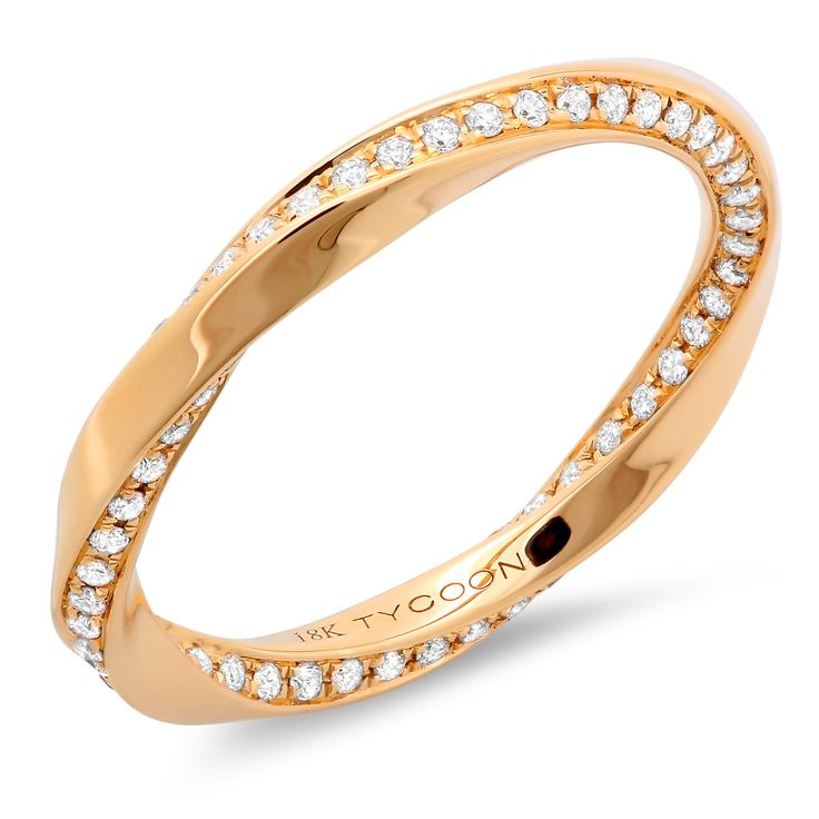 An interesting take on a simple gold band.