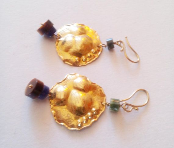 FREE SHIPPING vintage pure golden18K beautiful by mademeathens