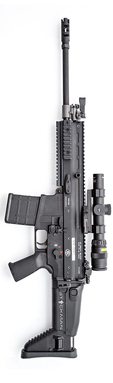Handl Defense lower with .308 SCAR using Magpul LR20 mags. Photo by Stickman.