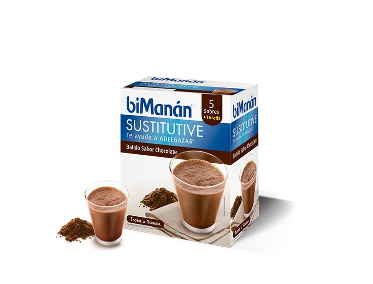 Batido Sabor Chocolate #biManánSustitutive