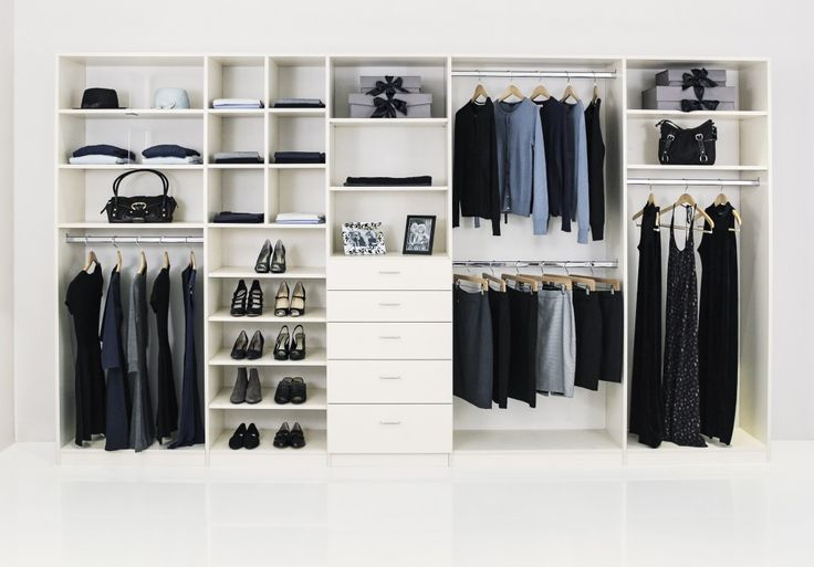 REACH IN closet http://www.closetfactory.com/custom-closets/closet-organizer-galleries/reach-in-closets/?imgid=11607