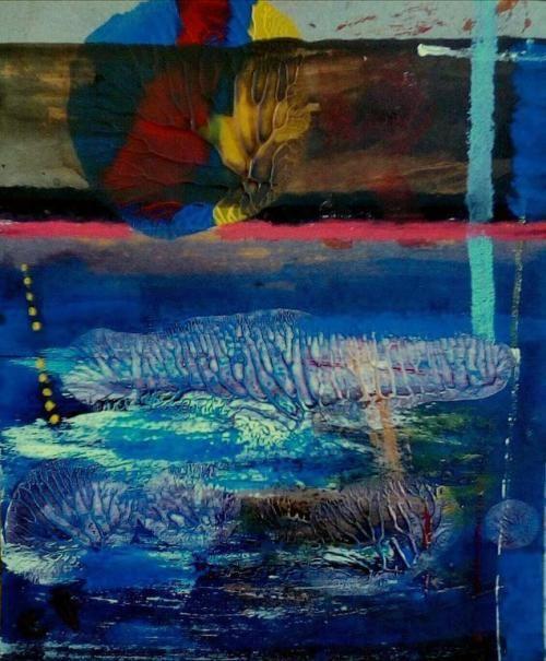 Paintings - FLOWING 2 - AN ORIGINAL PAINTING BY CELESTE FOURIE-WIID for sale in Hermanus (ID:308471890)