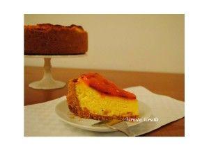 Cheesecake alle pesche (con cottura) | Cake e piccole tentazioni