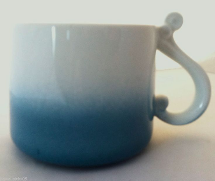 New Starbucks Hawaii 2014 Blue Wave Coffee Tea Mug Cup 10
