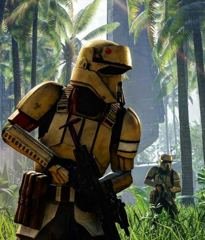 Star Wars - Rogue One Shoretroopers