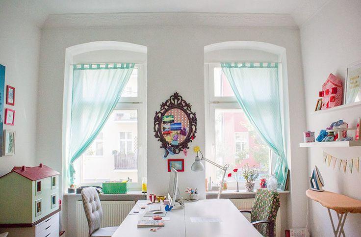 DIY-Anleitung: Einen Vorhang bzw. Schlaufenschal selbst nähen