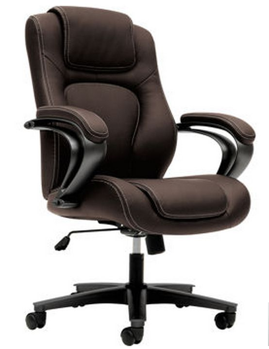 costco lane leather office chair. basyx by hon brown managerial mid-back chair with loop arms costco lane leather office