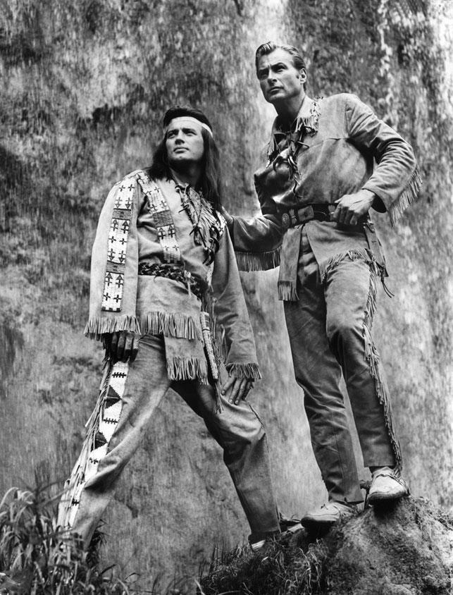Der französische Schauspieler Pierre Brice, der vor allem als Darsteller des Winnetou in den Karl-May-Verfilmungen der 1960er-Jahre