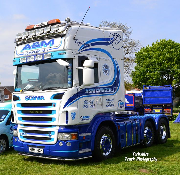 blue scania trucks - Google Search