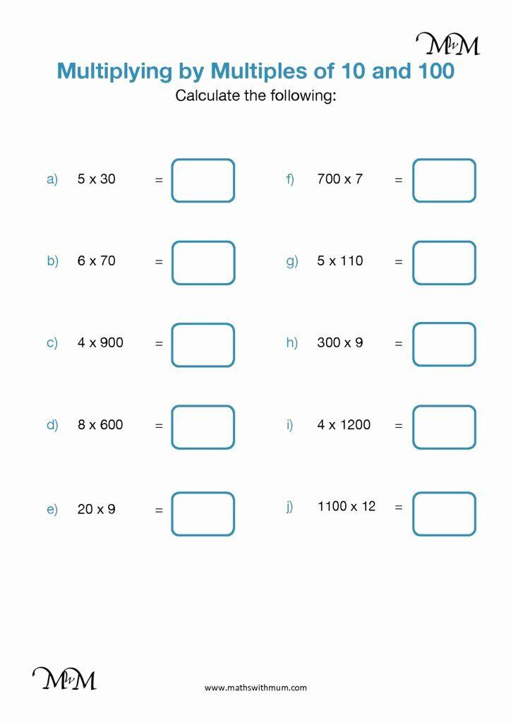 Pin On Multiplication