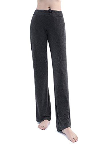 New Trending Pants: Womens Drawcord Straight Leg Cotton Athletic Pant for Sport Yoga Workout and Daily Wear (M, Grey). Women's Drawcord Straight Leg Cotton Athletic Pant for Sport Yoga Workout and Daily Wear (M, Grey)  Special Offer: $13.90  188 Reviews They come in regular for the perfect fit for you. These pants material quality is your favorite Cotton/Spandex, Elastic waist with a drawstring...