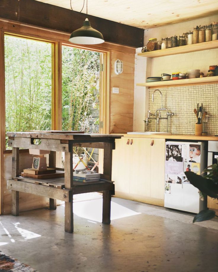 Tiny Kitchen For Garage Hearth Studio Carlton North Apartment