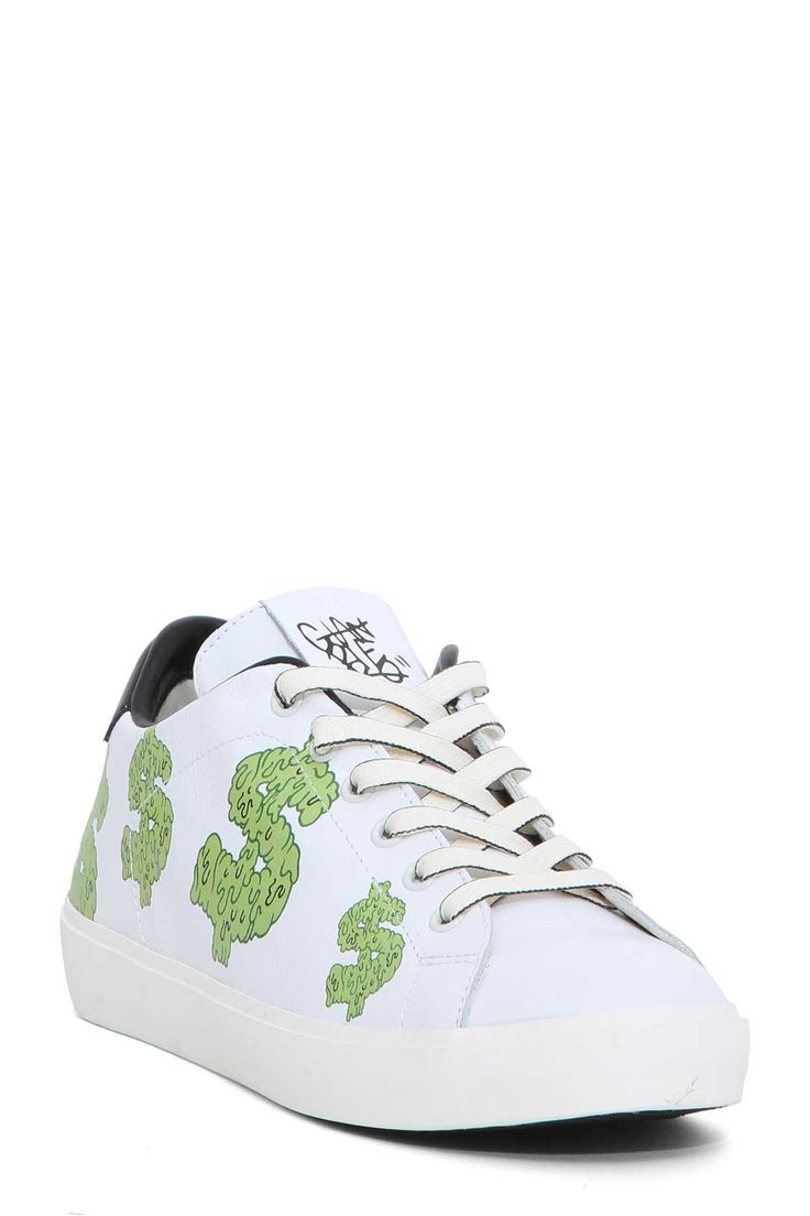 LEATHER CROWN SNEAKERS. #leathercrown #shoes #