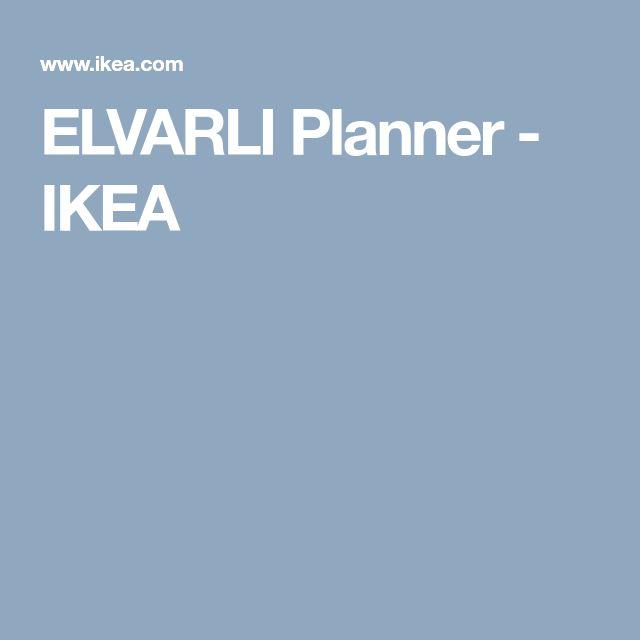 ELVARLI Planner - IKEA