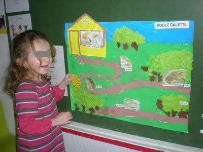 Des couleurs au bout des doigts: Roule galette et sa fresque