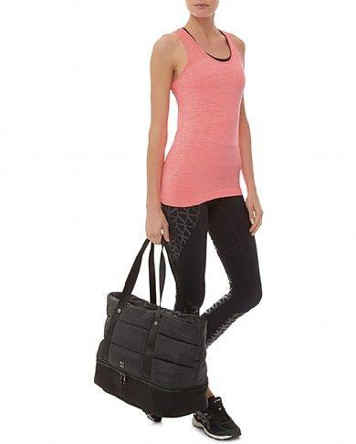 Sweaty Betty - Luxe Gym Bag - black