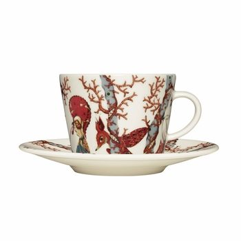 iittala Tanssi Coffee Cup and Saucer | Dishwasher, microwave, oven and freezer safe