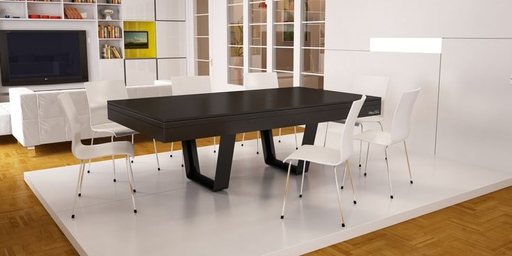 billard table design noir aero