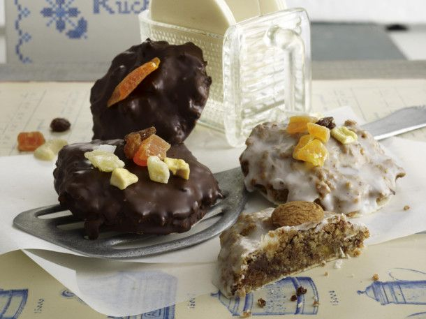 Elisen Lebkuchen mit exotischem Trockenobst Rezept