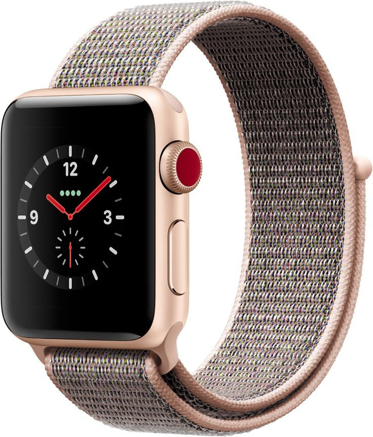 Apple Watch Series 3 (38mm) GPS Cellular mit Sport Loop