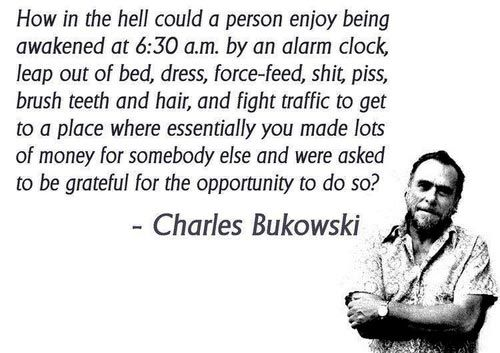 Henry Charles Bukowski is an American poet. If you're looking for words of wisdom, here's a collection of Charles Bukowski quotes.