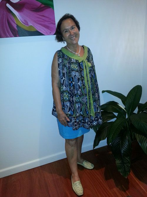 Sew 345 - Turn a dress into a top with a simple restyle