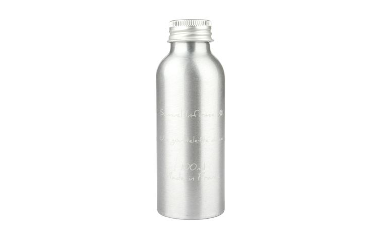 Refill/Economy Bottle UGDC By Samuel Infirmier®.  Aluminium - Laser Engraved Bottle Genuine Leather Box.