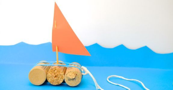Quick Craft for Kids -- Toy Boats - innerchildfun.com... #kids
