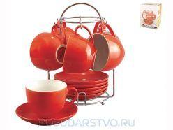 Набор кружек Коралл TS012-RE ― купить в Посударство.ру