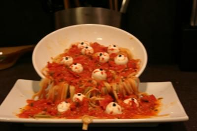 Fun Halloween Dish! Would you make this for your family during the holiday?