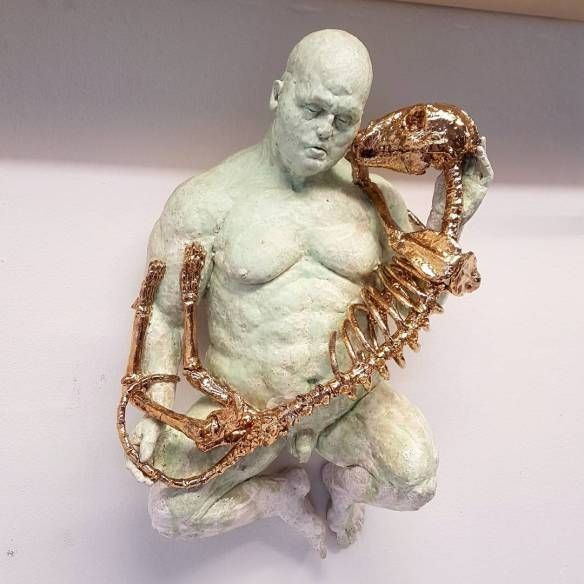 Disturbed, Figurative Ceramic Sculptures by Lars Calmar | Hi-Fructose Magazine