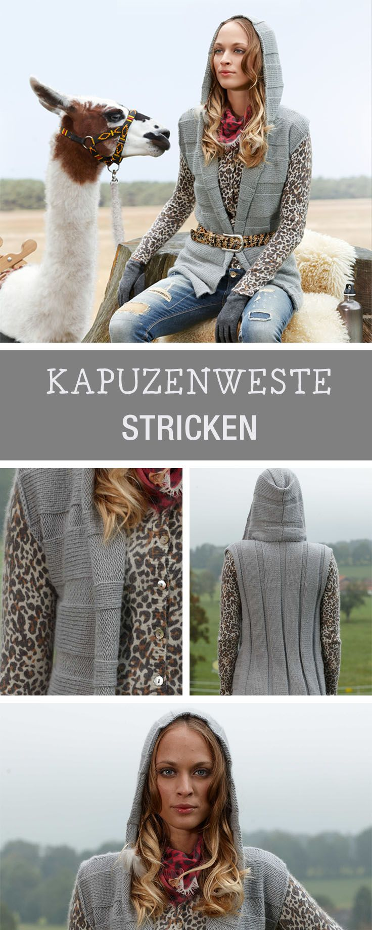 Amazing Häkeln Kapuze Frei Muster Pattern - Decke Stricken Muster ...